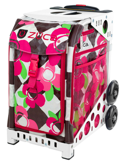 Zuca Sport Bag - BLOSSOM w/ White Frame *$20 OFF* Minor Cosmetic Damage