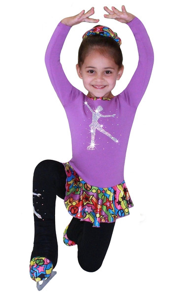 """ Skating Girl "" Ice Skating Outfit Gift Set"