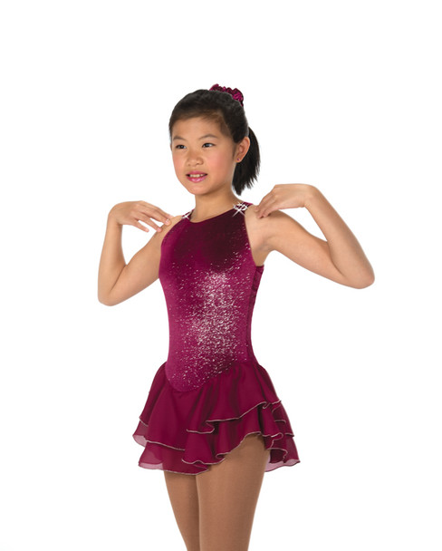 Jerry's Ice Skating  Dress 11 - Shimmer (Sangria)