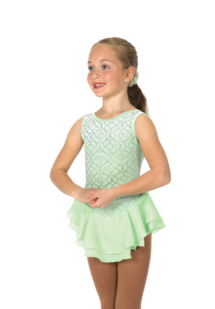 Jerry's Ice Skating  Dress 20 - Silver-Set (Ice Lime)