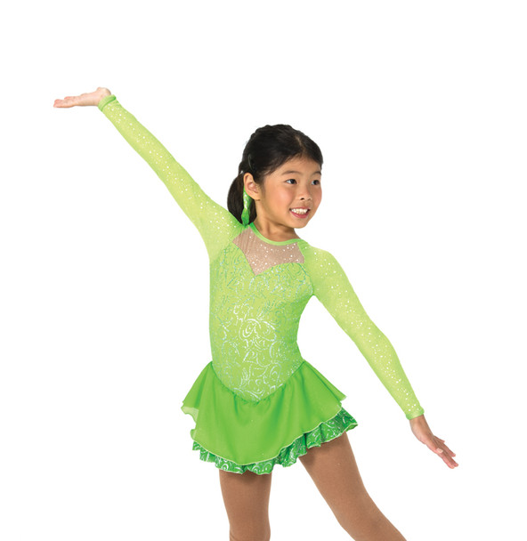 Jerry's Ice Skating  Dress 40 - A Twist of Lime