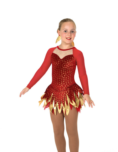 Jerry's Ice Skating  Dress 46 - Feather & Flame