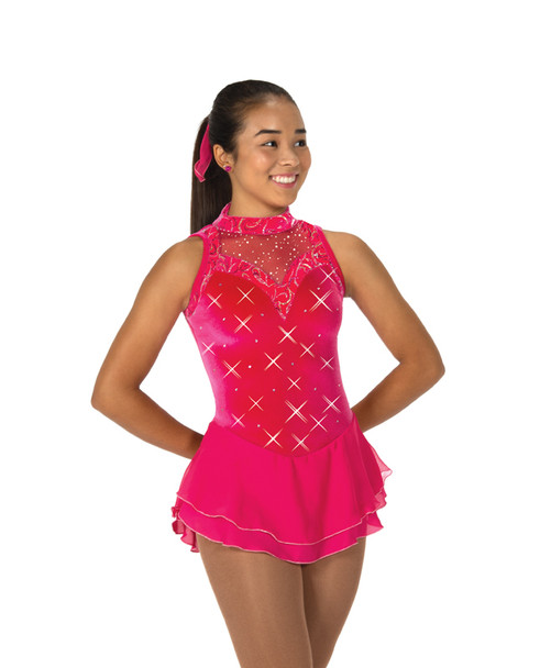 Jerry's Ice Skating  Dress 110 - Partial to Pink