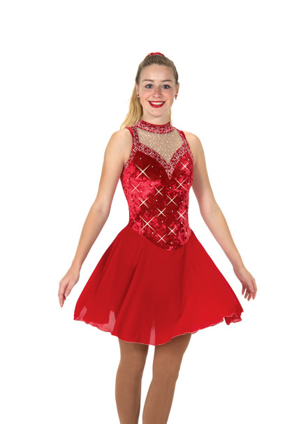 Jerry's Ice Skating  Dress 134 - Ballroom Bling Dance