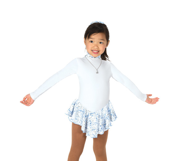 Jerry's Ice Skating  Dress 16 - Frost on Fleece (White Frost)