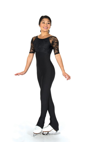 294 Jerry's Lace Overlay Catsuit
