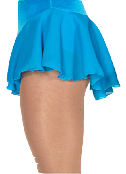 313 Jerry's  Single Georgette Skirt - Blue