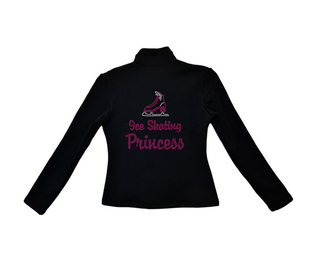 ChloeNoel Outfits - Pants P22 and J42 X Solid Polar Fleece Fitted Jacket - Ice Skating Princess (Pink) (Clearance)