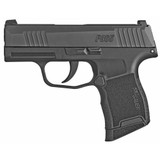 """Sig Sauer P365 9MM, 3.1"""" Barrel, Polymer Frame, Black Finish, XRay3 Day/Night Sights, 2 Magazines, 1 Flush Fit 10Rd & 1 Extended 10Rd (BDU)"""