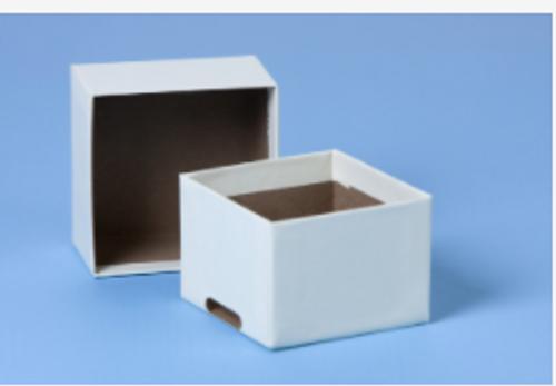 "2"" Mini Nalgene Cardboard Box - No Slots"
