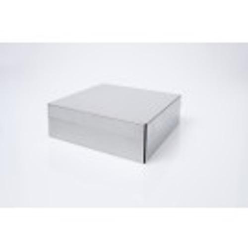 "3.75"" Aluminum Box with Rivet-Hinge Lid"