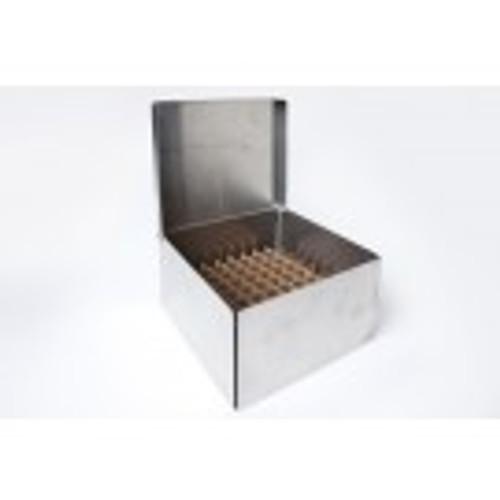 """2"""" Mini Nalgene Aluminum Box with Rivet Hinge Lid"""