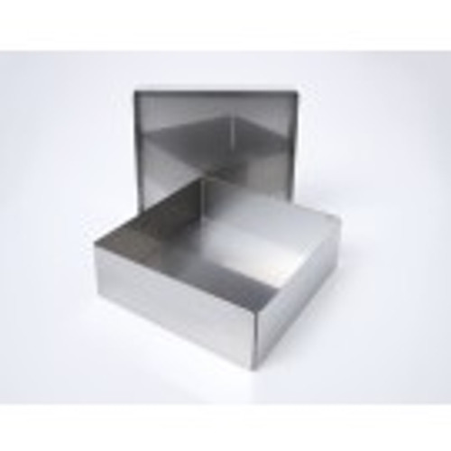 "2"" Aluminum Box with Fingerholes"