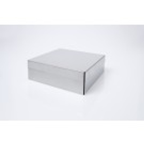 """2"""" Stainless Steel Box with Shoebox Lid"""