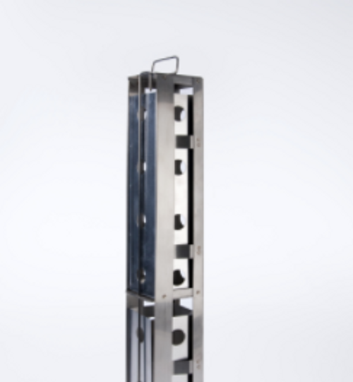 2-Place SUC-1 Rack with Spring Clips