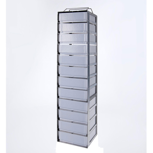 10-2 Stainless Steel Vertical Rack