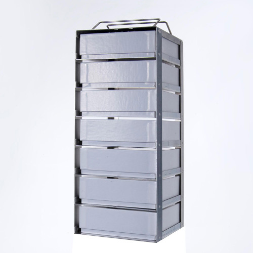 7-2 Stainless Steel Vertical Rack
