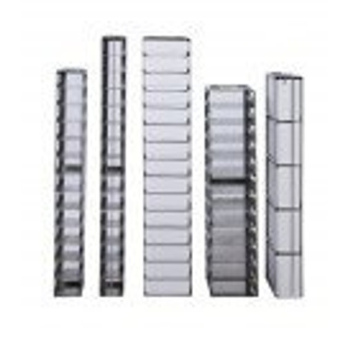 6-3.75 Stainless Steel Vertical Rack