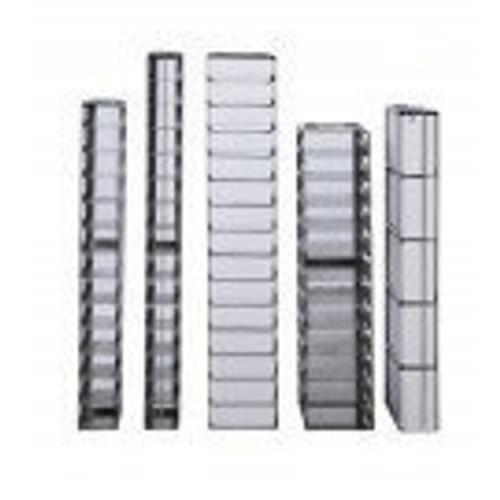 8-3.75 Stainless Steel Vertical Rack