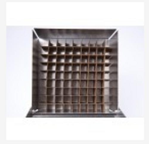 "81 Cell Aluminum Divider for 4"" Box"