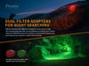 Fenix HT18 1500 Lumen Long-Range Hunting Flashlight (HT18)