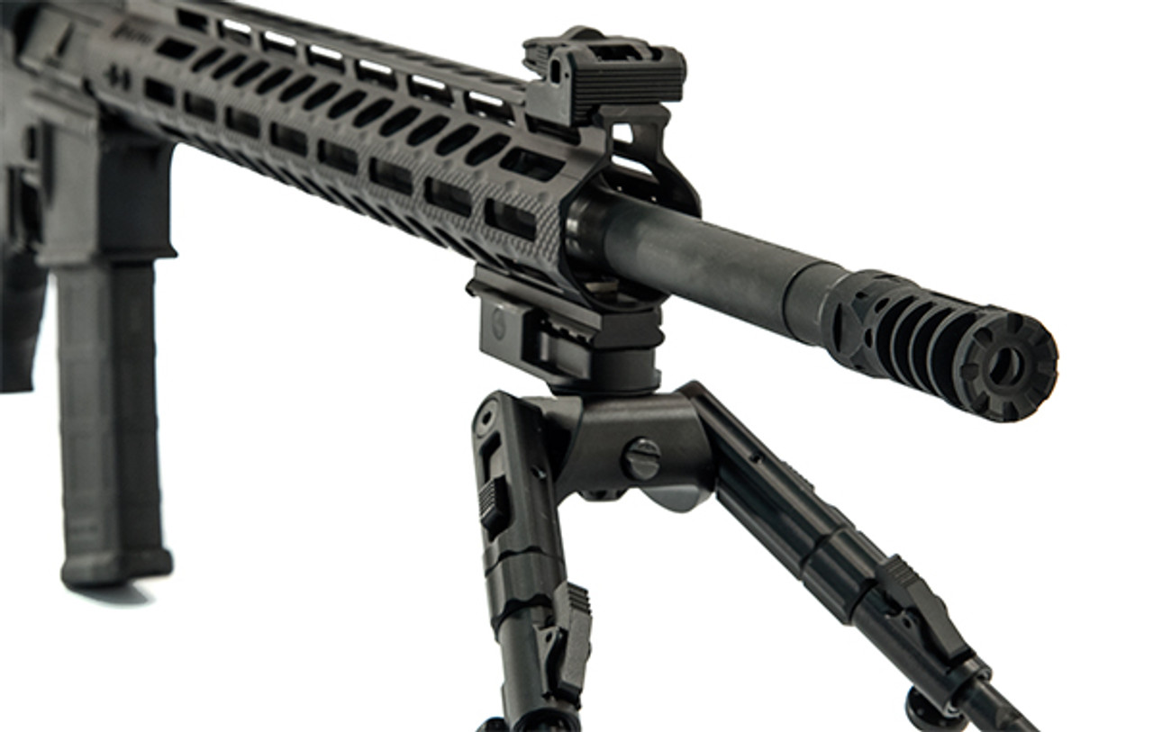 "UTG PRO® AR15 Muzzle Brake, .223/5.56, 1/2""X28, 2.25"" Length (LEAPKDTLUMD02)"