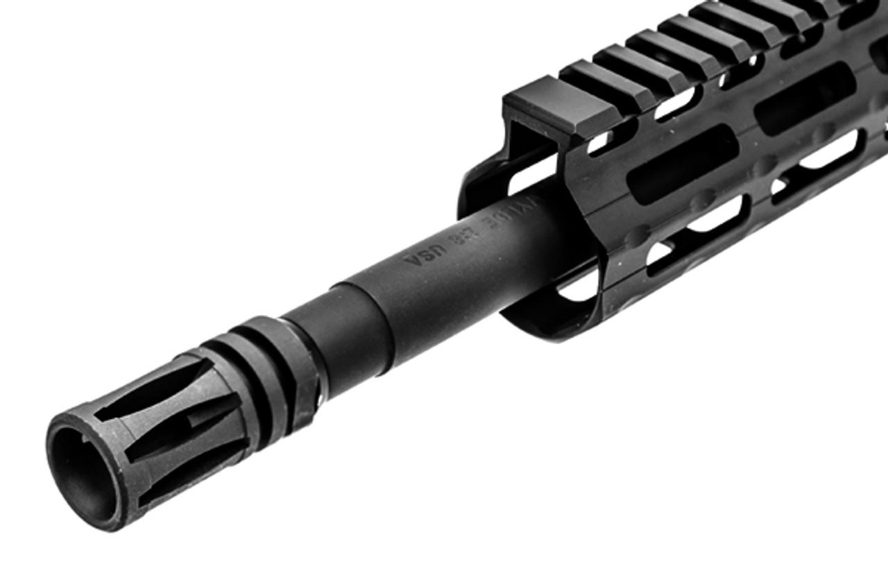 "UTG Standard AR15 A2 Flash Hider, Matte Black, 1/2""-28 UNEF (LEAPKDTL-ARFH01)"