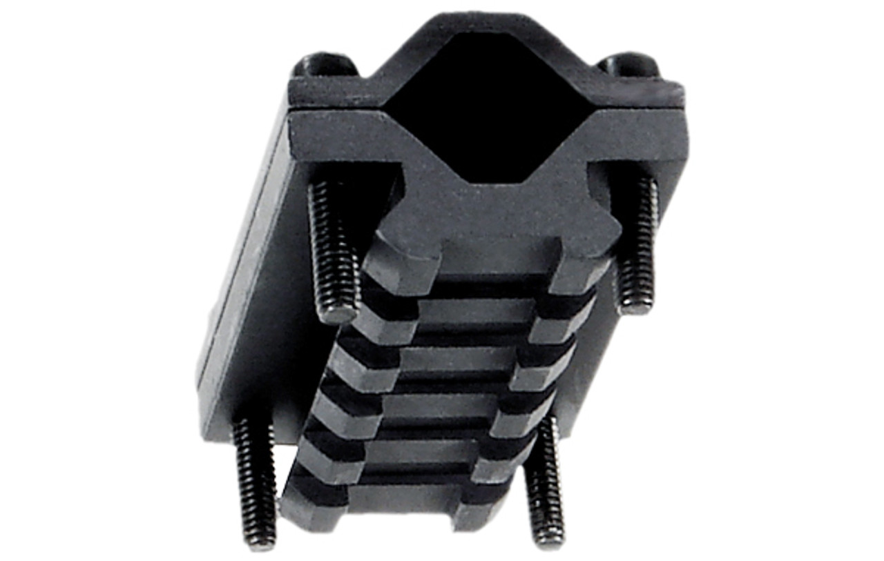 UTG® Universal Single-rail Rifle Barrel Mount, 5 Slots (LEAPKD_MNT-BR005S)