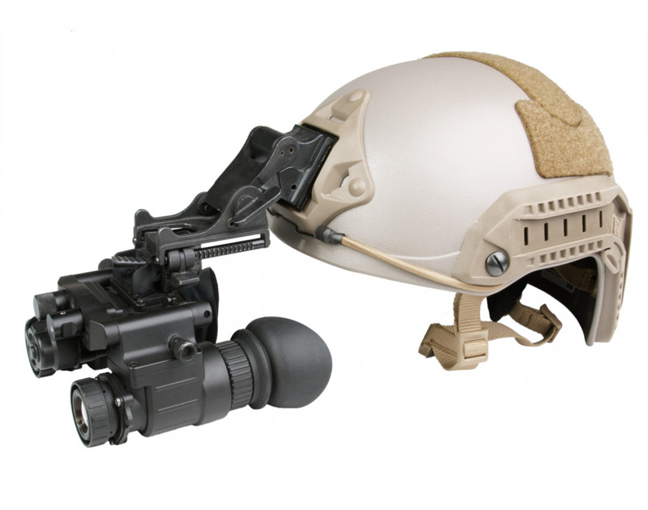"AGM NVG-50 NL1 Dual Tube Night Vision Goggle/Binocular 51 degree FOV Gen 2+ ""Level 1"" (AGM NVG-50 NL1)"