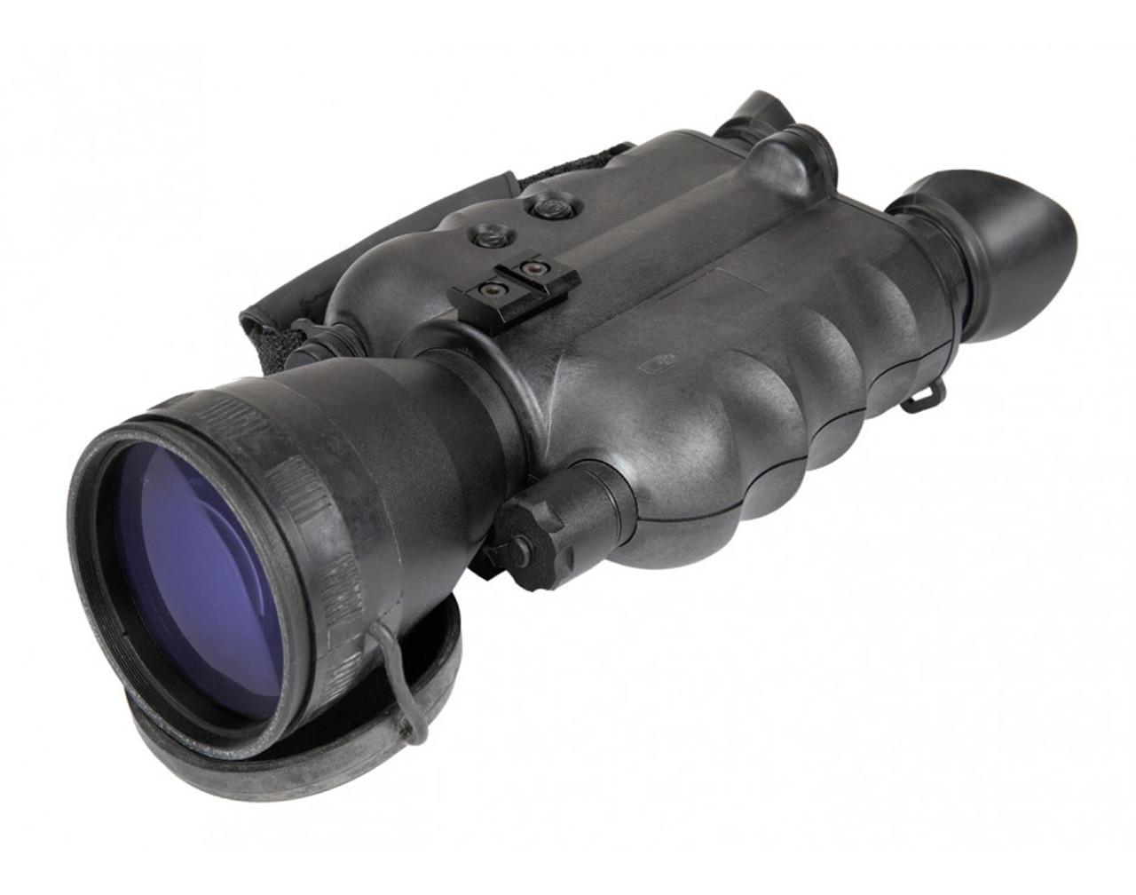 "AGM FoxBat-5 NW3 Night Vision Bi-Ocular 5x Gen 2+ ""White Phosphor Level 3"" with Sioux850 Long-Range Infrared Illuminator (AGM FOXBAT-5 NW3)"