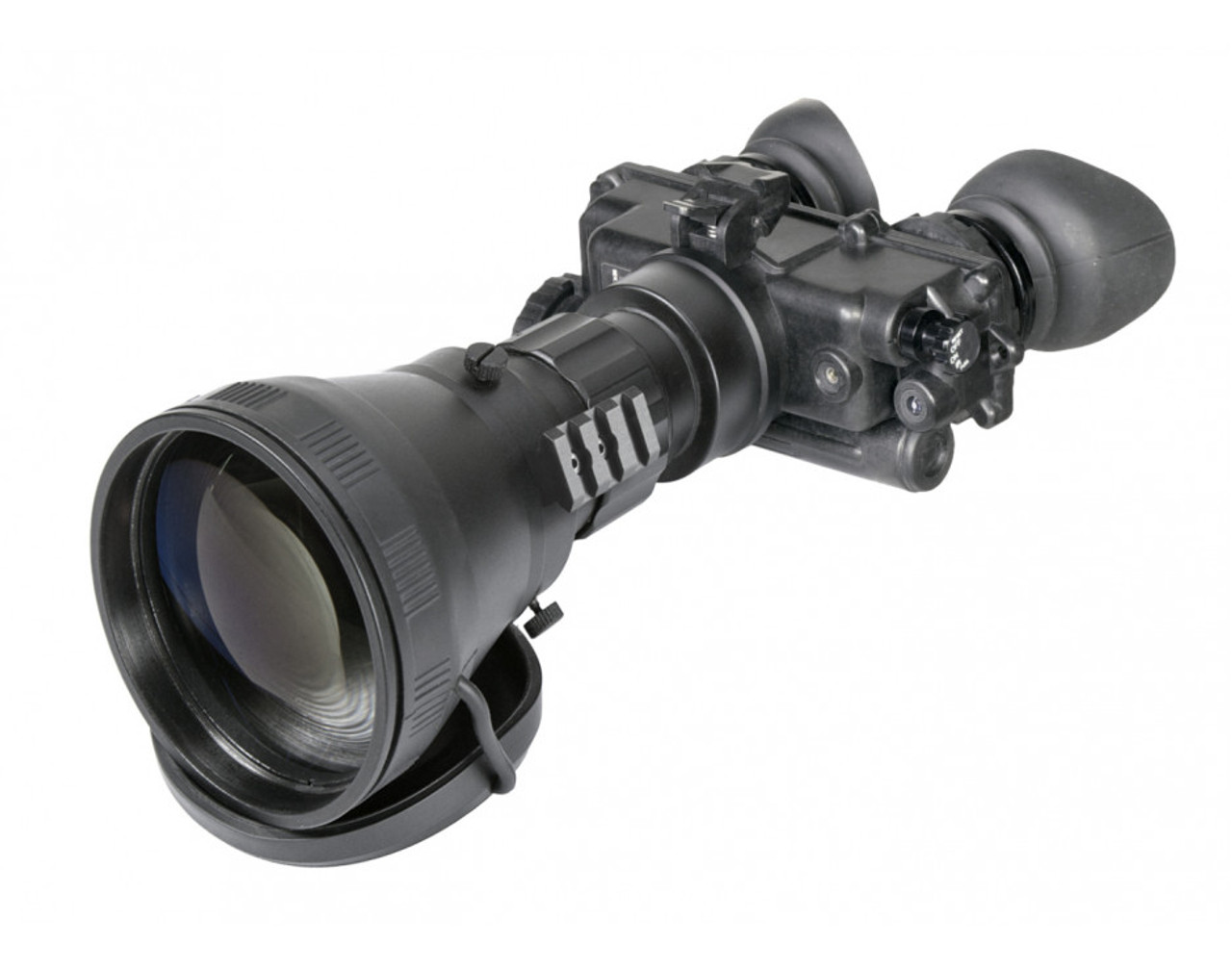 "AGM FoxBat-LE6 3NL1 Night Vision Bi-Ocular 5.6x Gen 3 ""Level 1"" with Sioux850 Long-Range Infrared Illuminator. Made in USA! (AGM FoxBat-LE6 3NL1)"