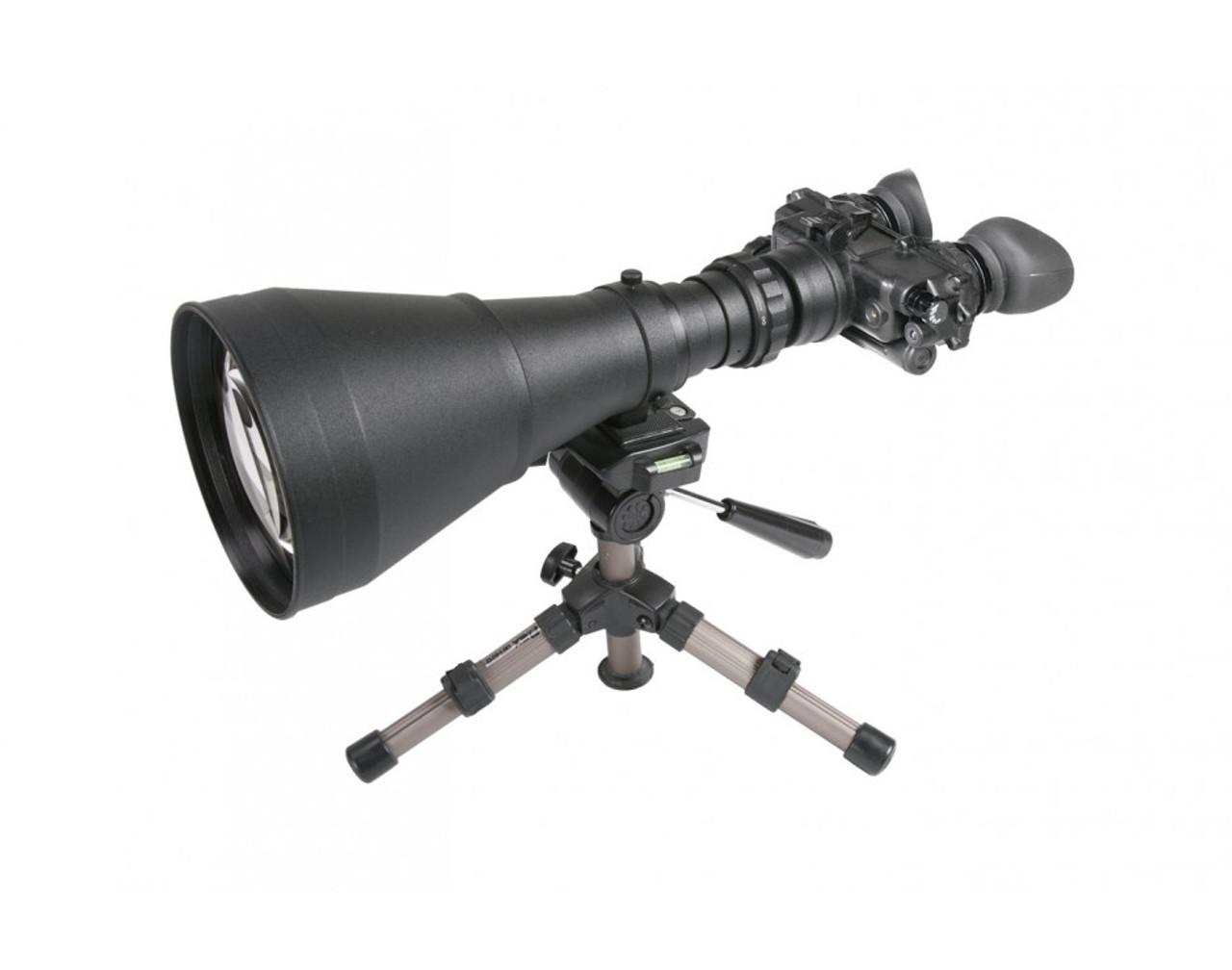 "AGM FoxBat-LE10 3NL1 Night Vision Bi-Ocular 9.6x Gen 3 ""Level 1"" with Sioux850 Long-Range Infrared Illuminator. Made in USA! ( AGM FOXBAT-LE10 3NL1)"