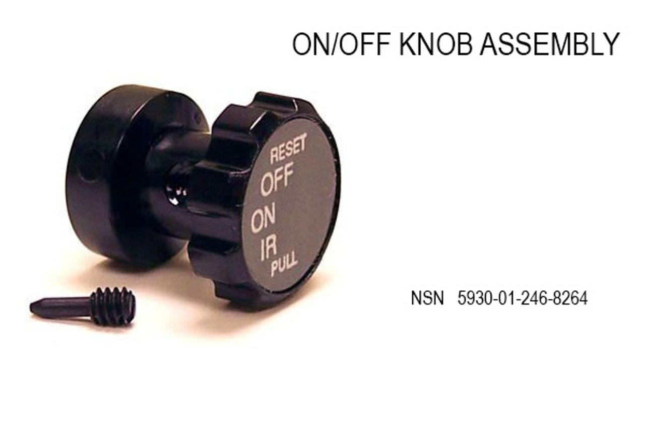 PVS-14 PVS-7 ON/OFF Switch Knob Assembly A3144404-1 (A3144404-1)