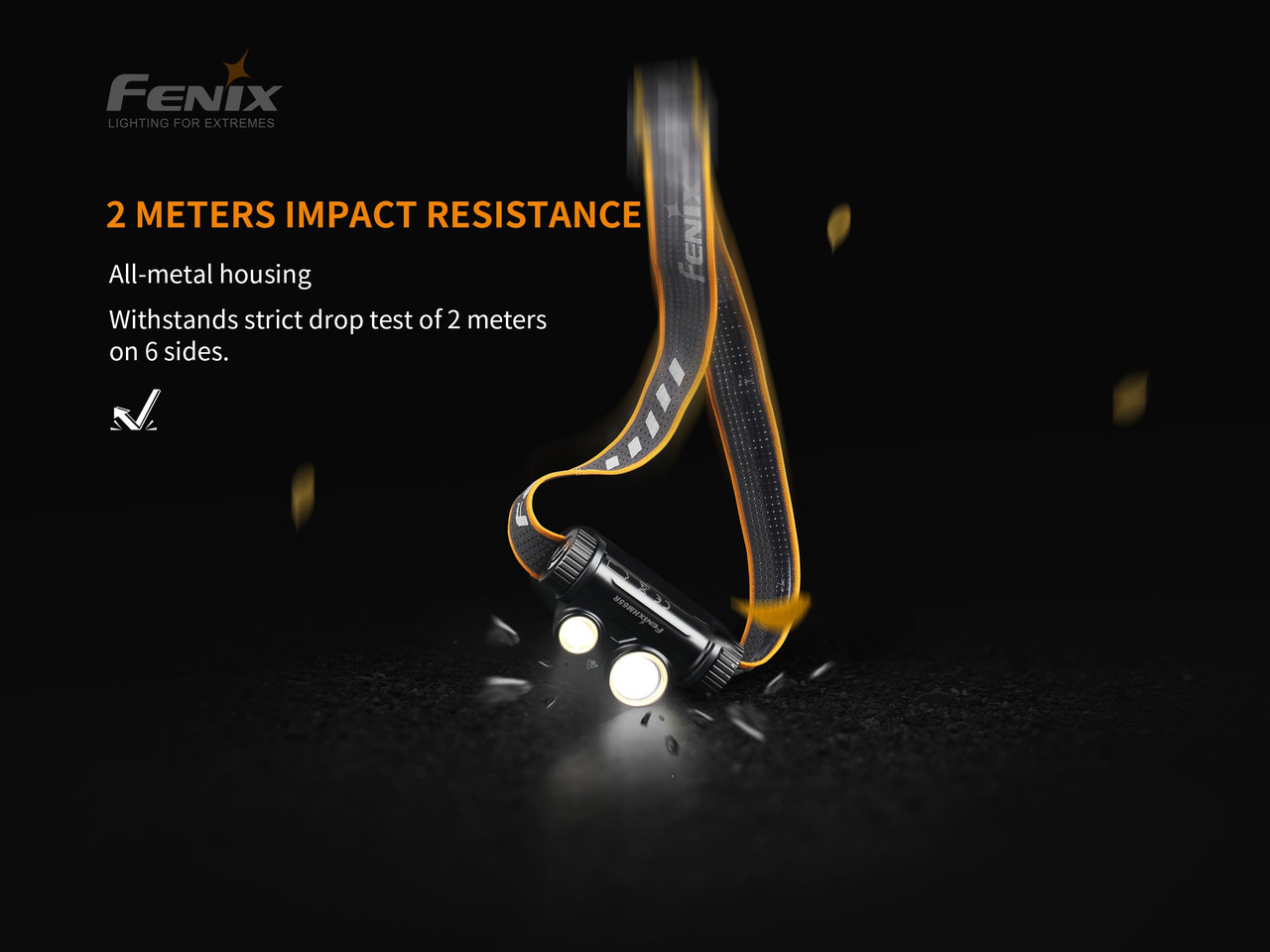 Fenix HM65R 1400 Lumen Headlamp. Dual Light Source (HM65R)