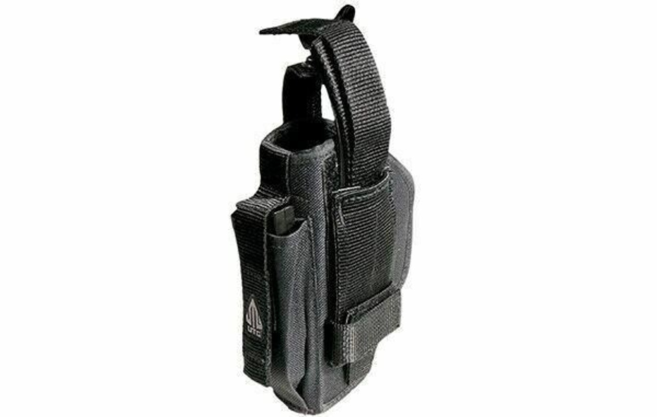 UTG Ambidextrous Belt Holster, Black for Use with Right or Left Hand PVC-H288B