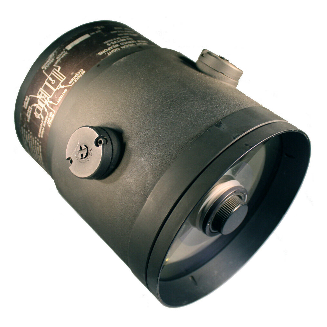 105mm Front Objective Lens for AN/PVS-4 AN/TVS-5 Night Vision Scope Weapon Sight