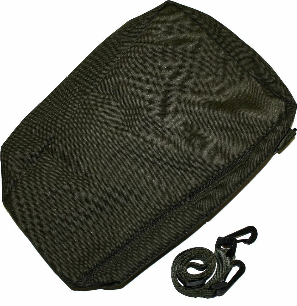 AN/PVS-7 PVS-14 6015 Night Vision OD Green Soft Carry Case Bag w/ Shoulder Strap