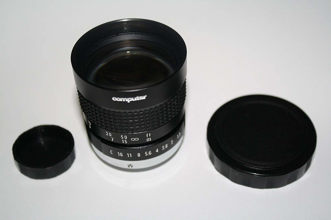Computar V5013 CCTV Night Vision Camera Lens 50mm F1.3 14:6 C Mount, NEW IN BOX
