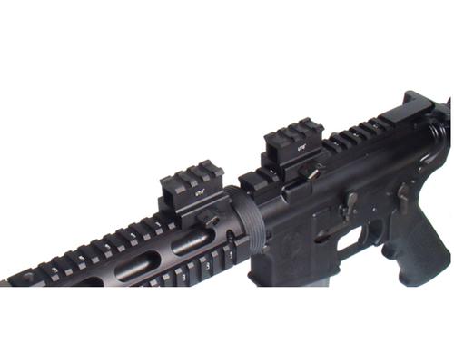 "UTG Hi-Profile Compact Riser Mount, 1"" High 1.6"" Length, 3 Slots (LEAPKDMNT-RS10S3)"