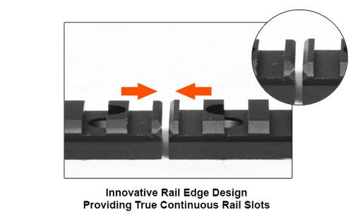 UTG PRO® Rail for Super Slim Free Float Handguard, 15 Slots (LEAPKD_MTURS02L)