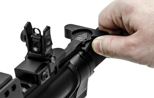 TL-ARCH01 UTG Standard AR15 Charging Handle, Black (LEAPKDTL-ARCH01)