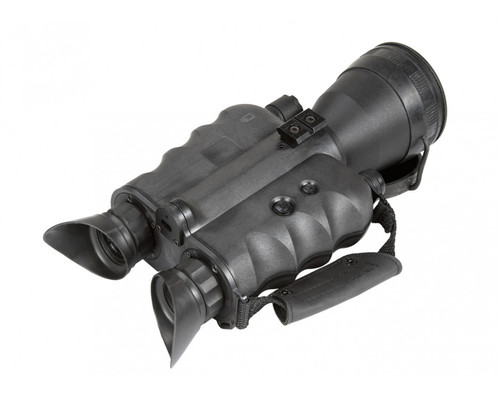 "AGM FoxBat-5 NW2 Night Vision Bi-Ocular 5x Gen 2+ ""White Phosphor Level 2"" with Sioux850 Long-Range Infrared Illuminator (AGM FoxBat-5 NW2)"
