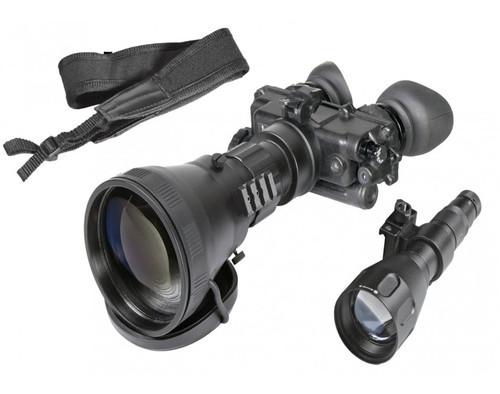 "AGM FoxBat-LE6 3NL1 Night Vision Bi-Ocular 5.6x Gen 3 ""Level 1"" with Sioux850 Long-Range Infrared Illuminator. Made in USA! (AGM FoxBat-LE6 3NL1)"