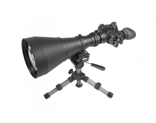 "AGM FoxBat-LE10 NL1 Night Vision Bi-Ocular 9.6x Gen 2+ ""Level 1"" with Sioux850 Long-Range Infrared Illuminator. ( AGM FOXBAT-LE10 NL1)"