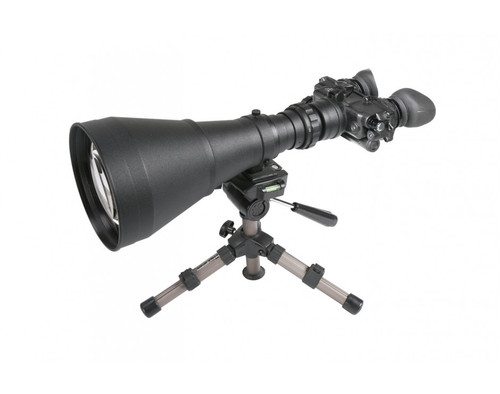 "AGM FoxBat-LE10 NL1 Night Vision Bi-Ocular 9.6x Gen 2+ ""Level 1"" with Sioux850 Long-Range Infrared Illuminator. ( AGM FOXBAT-LE10 NL1)"