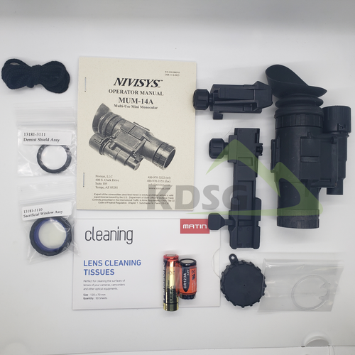 KDSG MUM-14A Night Vision Monocular Complete Kit NO TUBE (KDSG_MUM14A_KIT)