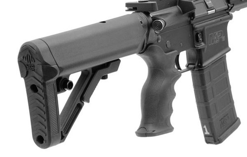 UTG PRO Ops Ready S1 Mil-spec Stock Kit, Black 6 POSITION Stock set. RBUS1BM