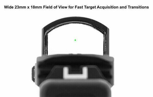 UTG Reflex Micro Dot, Green 4 MOA Single Dot with Adaptive Base SCP-RDM20G