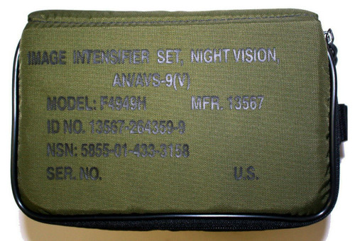 AN/AVS-9(V) F4949H ANVIS Night Vision NVG OD Green Carrying Case with Foam; NEW