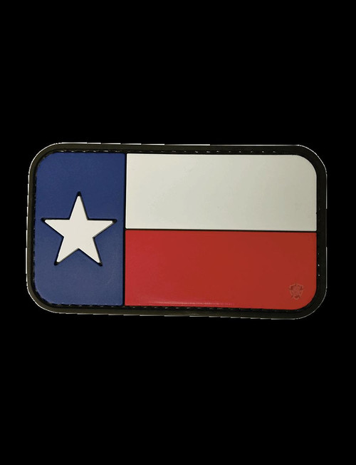 "Five Star Gear PVC Morale Patch Style 6610 TEXAS FLAG size 3.25"" x 2"""